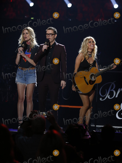 Photo - 30 April 2016 - Austin Texas -   Brooklyn Decker Bobby Bones Lindsay Ell 2016 iHeart Country Festival at The Frank Erwin  Photo Credit MJTAdMedia