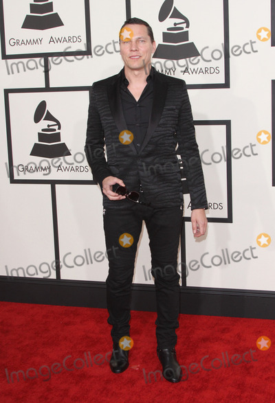 Tiesto,Grammy Awards Photo - 57th Annual GRAMMY Awards - Arrivals