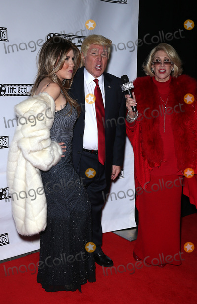 Photo - 20 February 2017 - Las Vegas NV -   Marcel Forestieri as DONALD TRUMP Mycki Manning as MELANIA TRUMP  Red Carpet Arrivals for 23rd Production of The Reel Awards Presented by International Celebrity Images at The Golden Nugget Hotel and Casino  Photo Credit MJTAdMedia