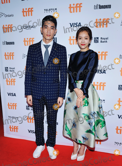 Photo - 17 September 2016 - Toronto Ontario Canada - Um Tae-goo and Han Ji-min The Age Of Shadows Premiere during the 2016 Toronto International Film Festival held at The Princess of Wales Theatre Photo Credit Brent PerniacAdMedia