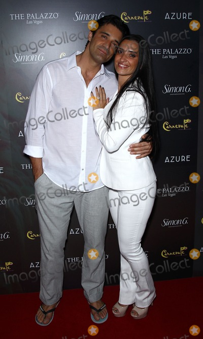 Gilles Marini,Carole Marini,Simon G Photo - Simon G Jewelrys Summer Soiree at Palazzo Las Vegas