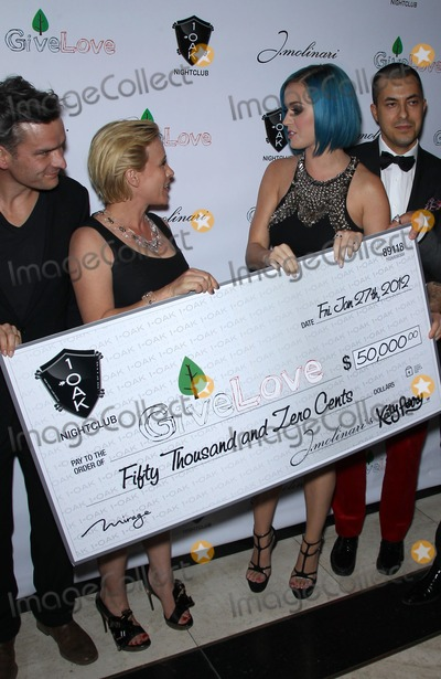 Katie Perry,Katy Perry,Patricia Arquette Photo - Katy Perry hosts GiveLove Event at 1OAK Las Vegas inside the Mirage