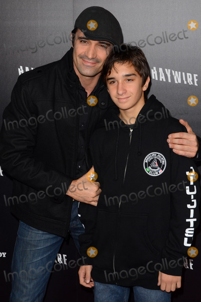 Gilles Marini,Georges Marini Photo - Haywire Los Angeles Premiere