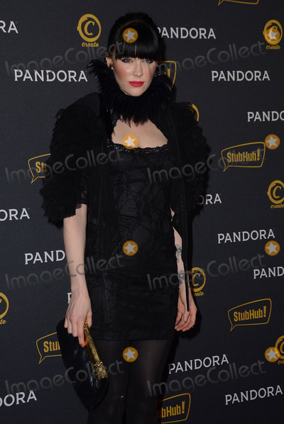 Audrey Napoleon Photo - 26 January 2014 - Hollywood California - Audrey Napoleon Arrivals for Pandoras Grammy After-Party at Create nightclub in Hollywood Ca Photo Credit Birdie ThompsonAdMedia