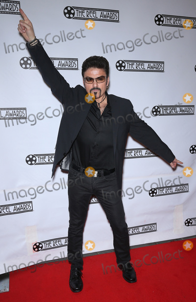 Photo - 20 February 2017 - Las Vegas NV -   Bill Pantazis as George Michael  Red Carpet Arrivals for 23rd Production of The Reel Awards Presented by International Celebrity Images at The Golden Nugget Hotel and Casino  Photo Credit MJTAdMedia