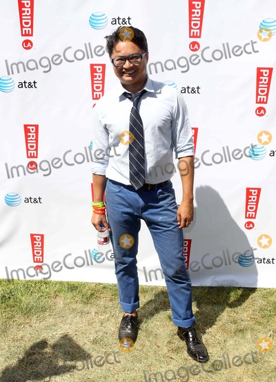 Alec Mapa Photo - 2012 LA Gay Pride_Backstage