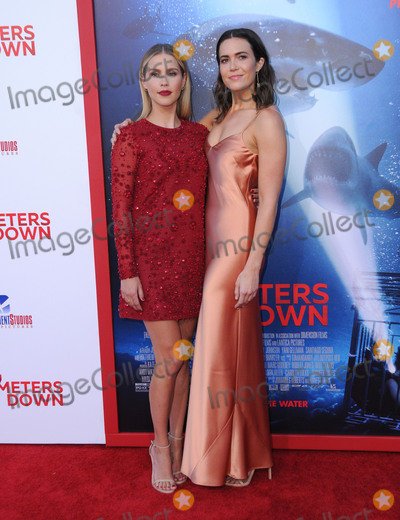 Photos From '47 Meters Down' Premiere - Los Angeles