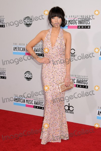 Carly Rae Jepsen Photos - 18 November 2012 - Los Angeles California - Carly Rae Jepsen 40th Anniversary American Music Awards - Arrivals held at Nokia Theatre LA Live Photo Credit Byron PurvisAdMedia