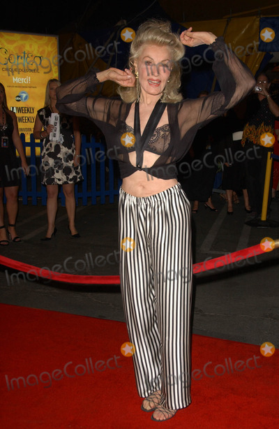 Julie Newmar,Cirque du Soleil Photo - Los Angeles Opening Cirque Du Soleils Corteo