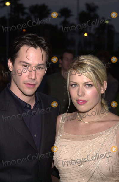 Keanu Reeves,Amanda De Cadenet Photo - Hardball Premiere