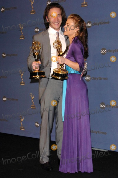 Gina Tognoni,Tom Pelphrey Photo - The 33rd Annual Daytime Emmy Awards Press Room