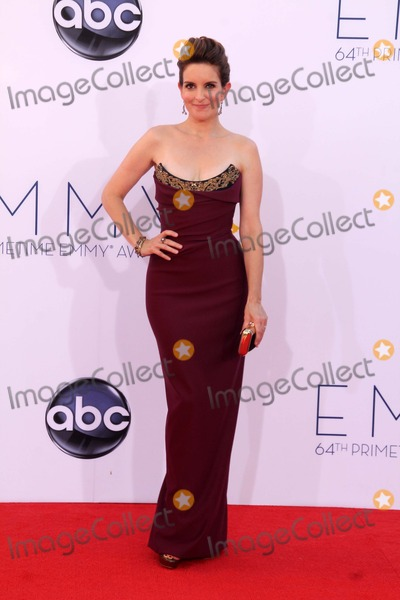 Tina Fey Photos - Tina Feyat the 2012 Primetime Emmy Awards Arrivals Nokia Theater Los Angeles CA 09-23-12