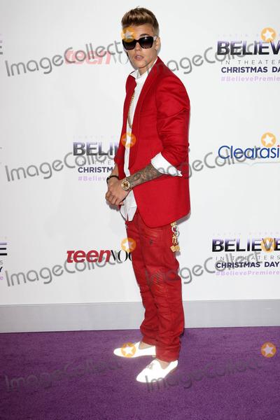 Justin Bieber Photos - Justin Bieberat the Justin Biebers Believe Premiere Regal Cinemas Los Angeles CA 12-18-13