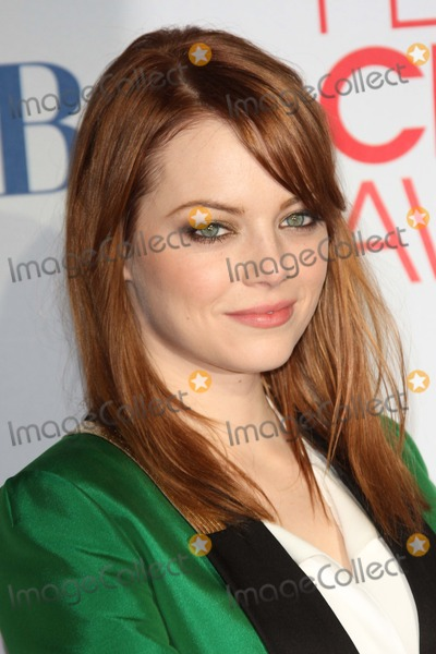 Emma Stone Photos - Emma Stoneat the 2012 Peoples Choice Awards Press Room Nokia Theatre Los Angeles CA 01-11-12