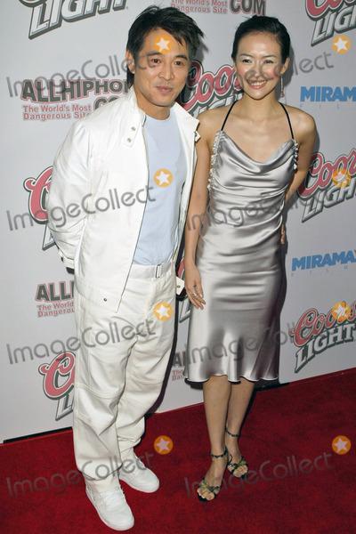 Ziyi Zhang and jet li