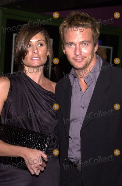 Sean Patrick Flanery and Wife Sasha at the premiere of  quot Kiss The Bride    Sean Patrick Flanery Married