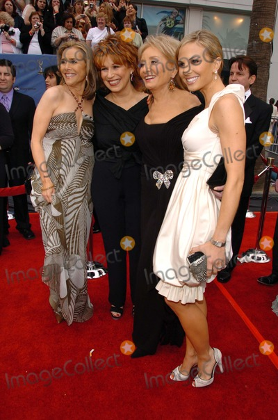 Meredith Vieira,Barbara Walters,Elisabeth Hasselbeck,Joy Behar Photo - The 33rd Annual Daytime Emmy Awards Arrivals