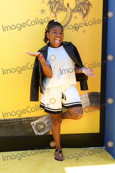 Photo - LOS ANGELES - JUN 24  Trinitee Stokes at the Despicable Me 3 Premiere at the Shrine Auditorium on June 24 2017 in Los Angeles CA