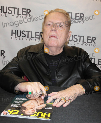 Photos From Larry Flynt does a signing at the new Hustler Hollywood Store in Las Vegas, Nevada