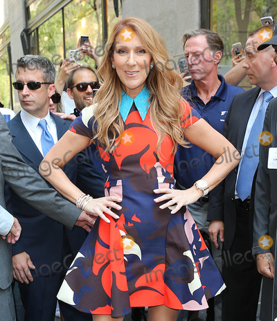 Photos From Celine Dion is seen in New York City