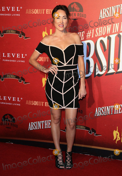 Photo - Photo by gotpapstarmaxinccomSTAR MAXCopyright 2017ALL RIGHTS RESERVEDTelephoneFax (212) 995-119632317Erin Coscarelli at the opening night performance of Absinthe(Los Angeles CA)