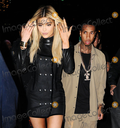 Kylie Jenner,Tyga Photos - Photo by XPXstarmaxinccomSTAR MAX2015ALL RIGHTS RESERVEDTelephoneFax (212) 995-119691215Kylie Jenner and Tyga are seen in New York City