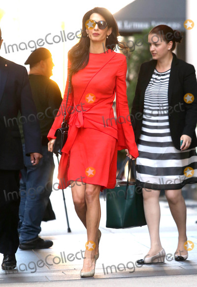 Photos From Amal Clooney in New York City