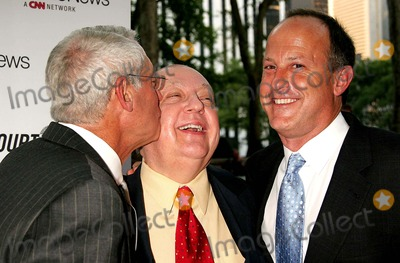 Roger Ailes Photo - Henry Schleiff Roger Ailes and Jim Walton Arriving at a Celebration For Nancy Graces First Book Objection at the Bryant Park Grill in New York City on 06-14-2005 Photo by Henry McgeeGlobe Photos Inc 2005