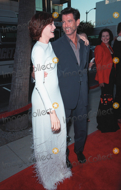 Pierce Brosnan,Rene Russo,RENEE RUSSO Photo - Thomas Crown Affair premiere