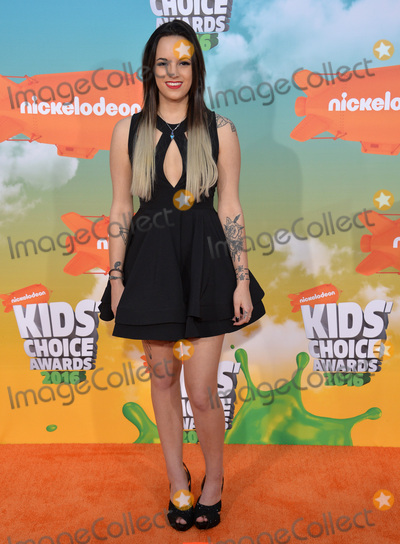 Ashley Mariee Photo - Ashley Mariee at the 2016 Kids Choice Awards at The Forum Los AngelesMarch 12 2016  Los Angeles CAPicture Paul Smith  Featureflash