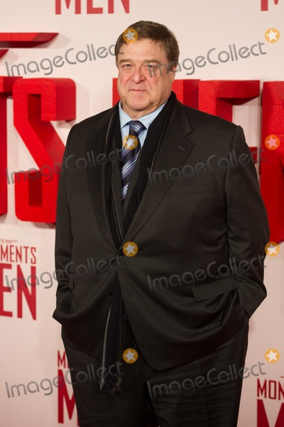 John Goodman Photo - John Goodman arriving for The Monuments Of Men Premiere at Odeon Leicester Square London 11022014 Picture by Dave Norton  Featureflash