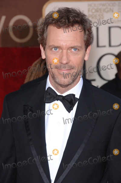 Hugh Laurie Photo - Golden Globe Awards