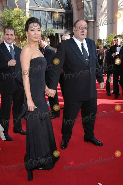 James Gandolfini Photos - Sopranos star James Gandolfini  date at the 59th Primetime Emmy Awards at the Shrine AuditoriumSeptember 16 2007 Los Angeles CAPicture Paul Smith  Featureflash