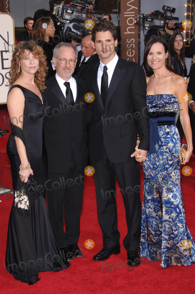 Steven Spielberg,Eric Bana,Kate Capshaw Photo - Golden Globe Awards
