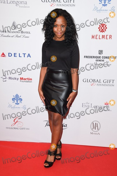 Asanda Jezile Photo - Asanda Jezile arriving for The Global Gift Gala London 2014 held at the Four Seasons hotel London 17112014 Picture by Steve Vas  Featureflash