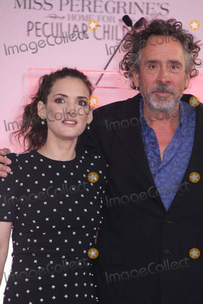 Photos From Tim Burton to Place Handprints and Footprints