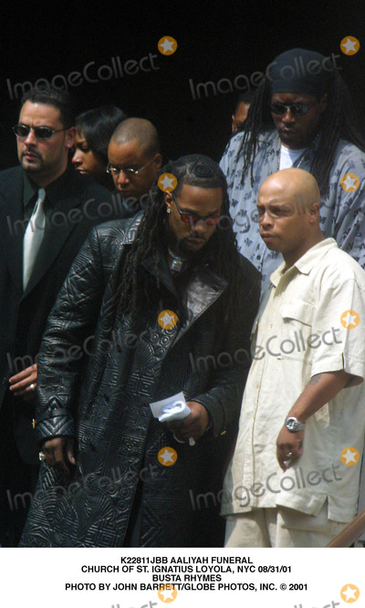 Busta Rhymes,Aaliyah Photo - Archival Pictures - Globe Photos - 89546
