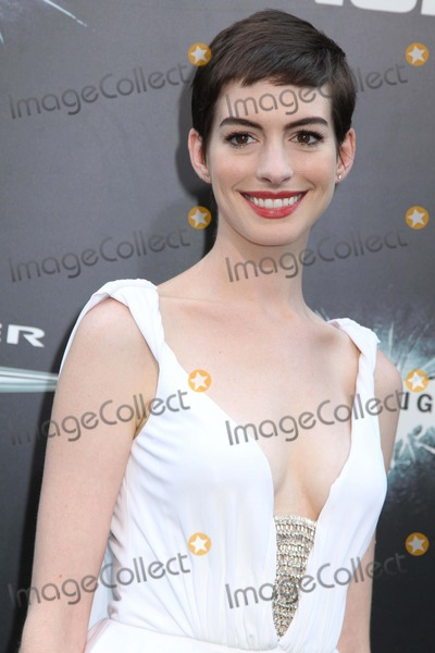Anne Hathaway,The Darkness Photos - The World Premiere of the Dark Knight Rises Amc Lincoln Square-imax Theater NYC July 16 2012 Photos by Sonia Moskowitz Globe Photos Inc 2012 Anne Hathaway