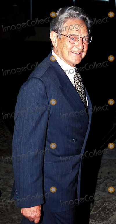 George Soros Photo - Sd1018 the 10th Anniversary Gala Benefit of Doctors of the World at Chelsea Pier in New York City George Soros Photo Byrick MacklerrangefindersGlobe Photos Inc