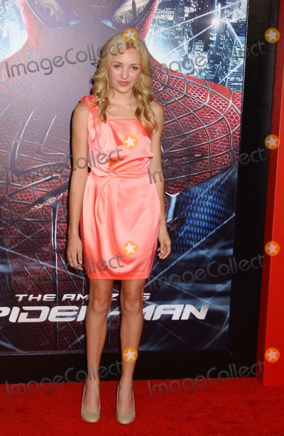 Peyton List,Spider Man,Spider-Man,Spiderman Photo - The Amazing Spider-man  Premiere Westwoodca