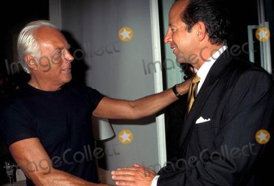 Ron Galotti Photo - Sd0911 Armani Store Opening in New York City Gorgio Armani and Ron Galotti Photo Byrose HartmanGlobe Photos Inc