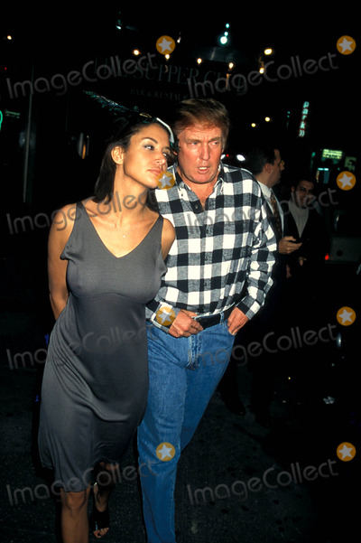 Donald Trump,Kara Young Picture - Archival Pictures - Globe Photos ...