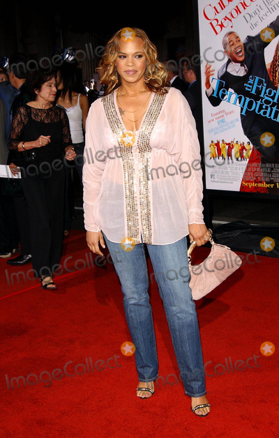 Temptations,Faith Evans Photo - The Fighting Temptations Premiere