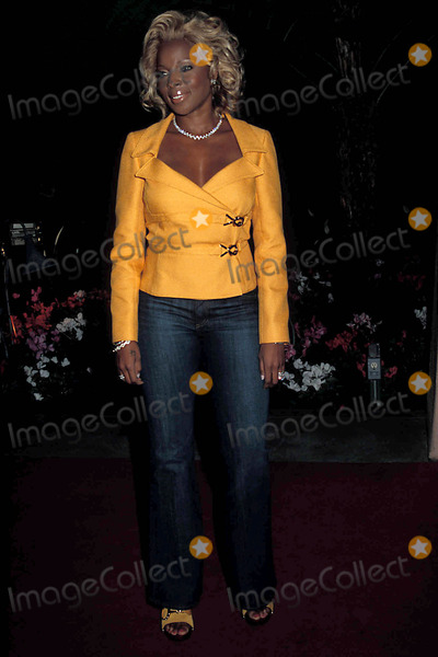 Clive Davis,Mary J. Blige Photo - Archival Pictures - Globe Photos - 54274