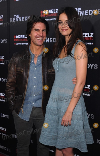 Kennedy Photo - World Premiere of the Kennedys at the Academy of Motion Pictures Arts and Sciences Samuel Goldwyn Theater in Beverly Hills Hollywood CA 32811 photo by James Diddick-globe Photos  2011 Tom Cruise Katie Holmes