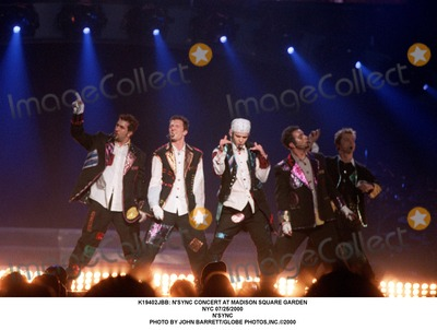 NSYNC Photo -  Nsync Concert at Madison Square Garden NYC 07252000 Nsync Photo by John BarrettGlobe Photosinc
