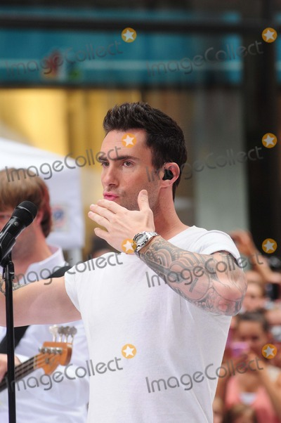 Adam Levine Photo - Maroon5 Performs on Today Show Concert Series