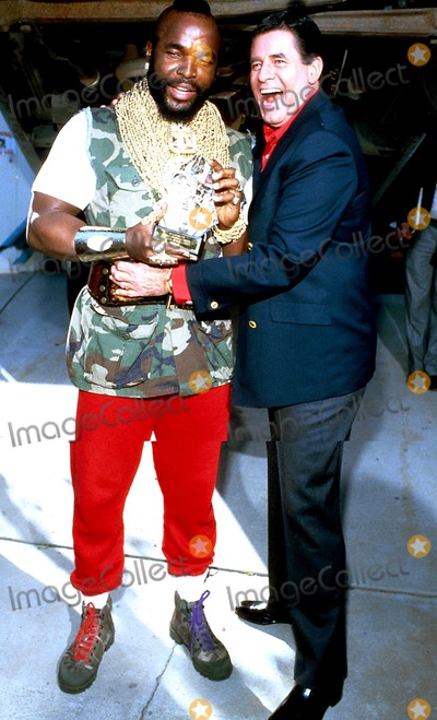 Jerry Lewis,Mr T,Mr. T Photo - Archival Pictures - Globe Photos - 83866