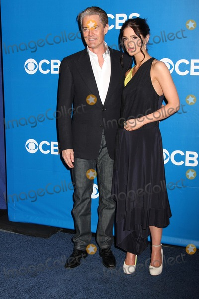 Janet Montgomery,Kyle Maclachlan Photo - Cbs Prime Time Upfront-nyc