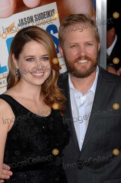 Jenna Fischer,James Gunn Photo - Los Angeles Premiere of Warner Broshall Pass